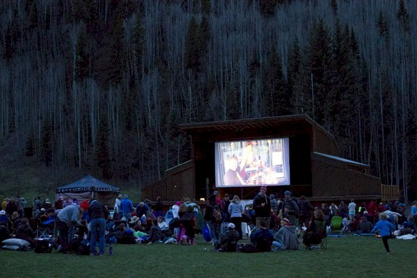 Telluride Mountain Film Festival 2011 - Night Movies in Town Park