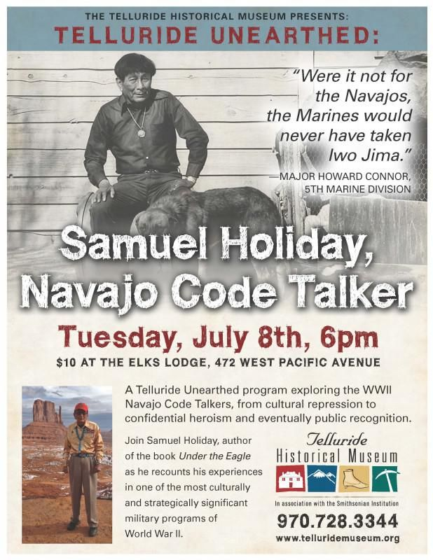 THM Code Talker Poster