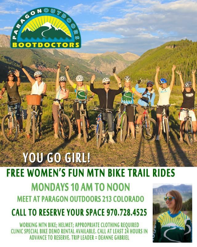 Free Womens Bike Clinic 2014 Merged