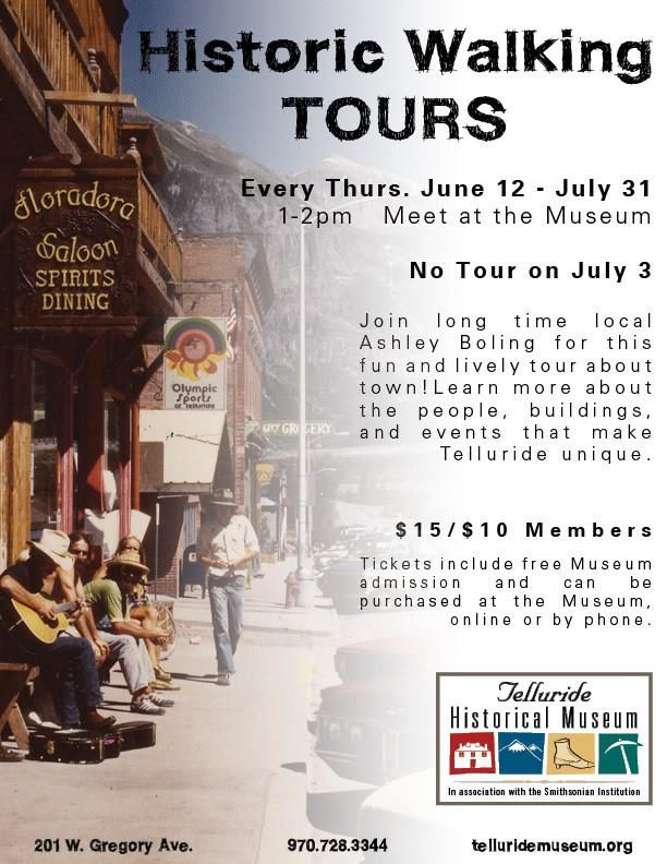 Historic Walking Tours Flyer