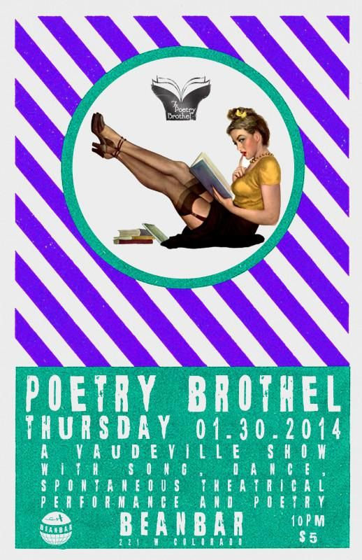 Beanbar Poetry Brothel 1 30 14