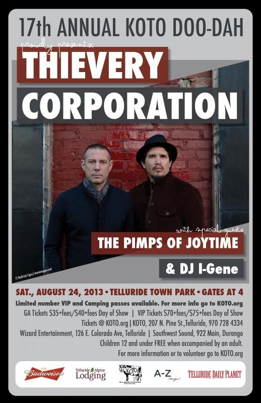THIEVERY CORP POSTER
