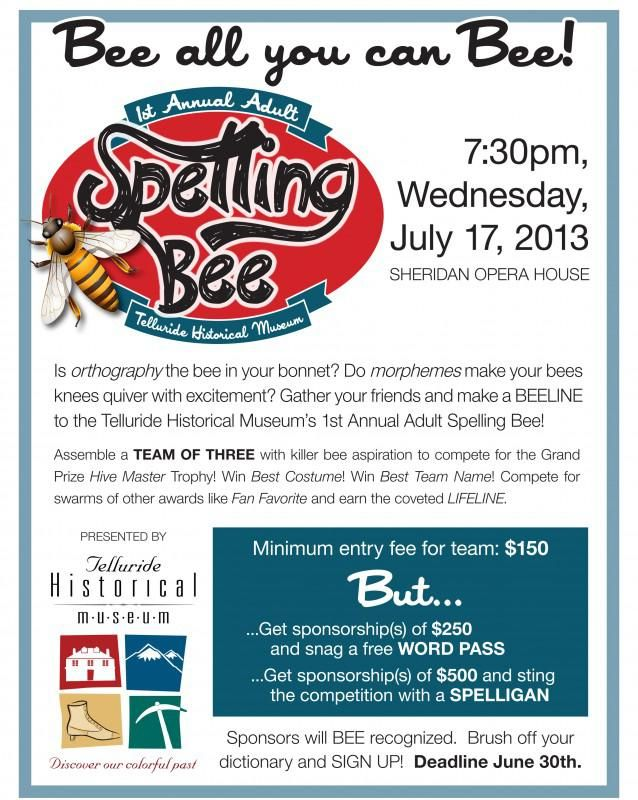 Spelling Bee Team Flyer (1)