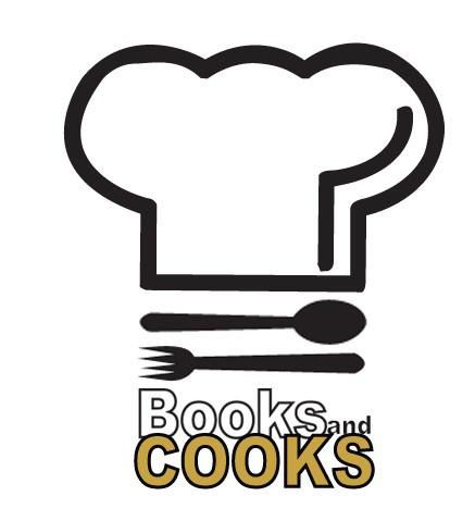 Books And Cook Logo Layered