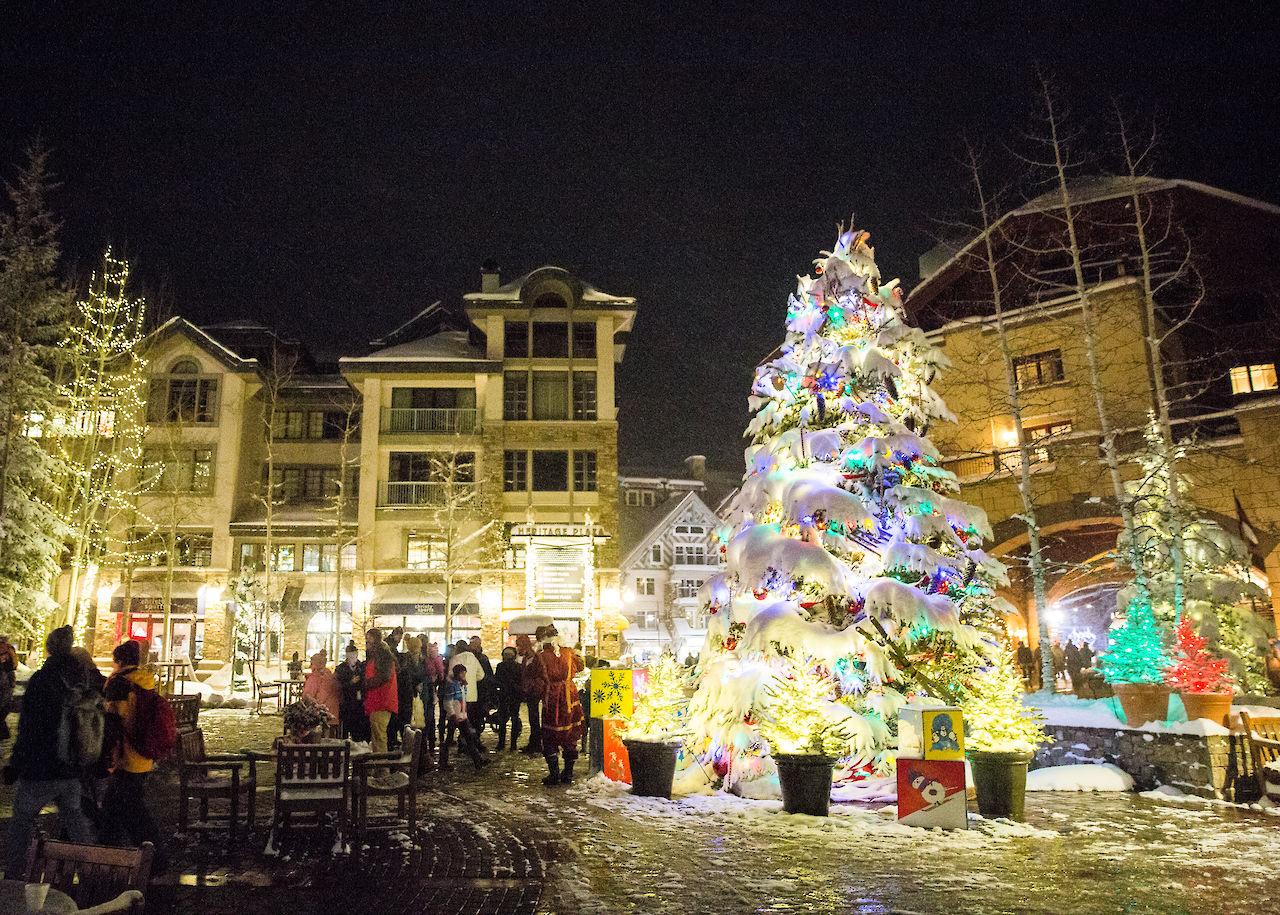 Holiday festivities in Telluride, CO