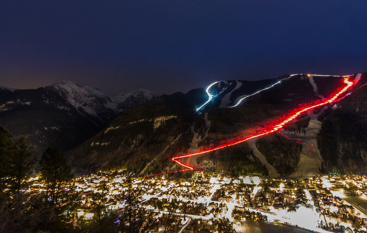 Telluride's Christmas Eve Torchlight Parade