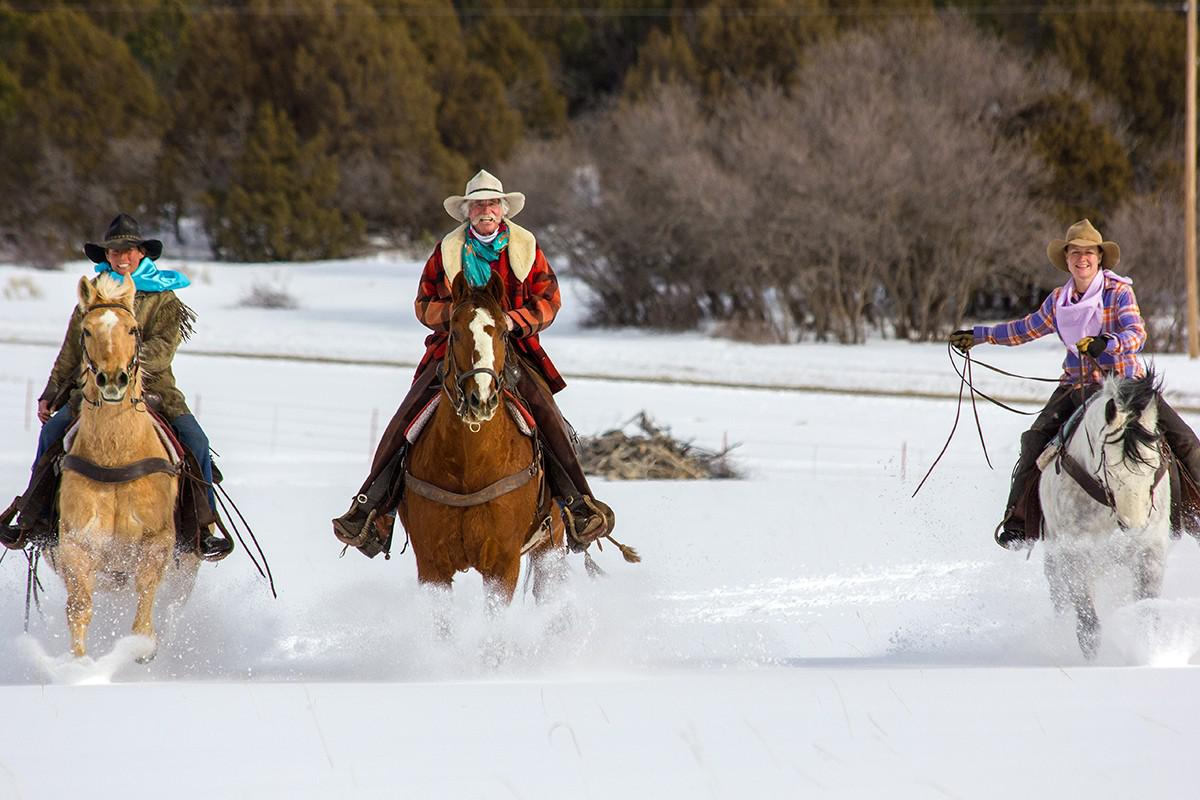 Winter Activities HORSEBACK RIDING