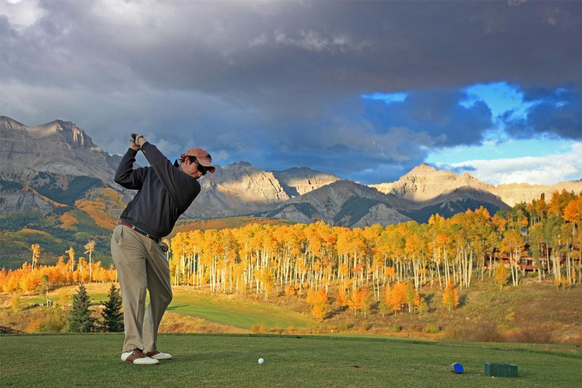 Golfing Visit Telluride